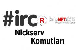 NickServ Komutları